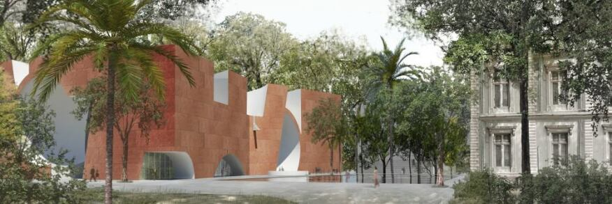 North Wing Addition, Steven Holl Architects, Mumbai
