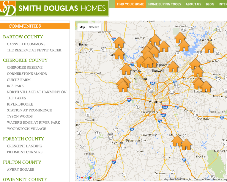 Smith Douglas Homes, based in Atlanta, will expand into Birmingham and Raleigh