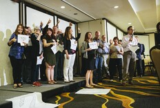 The AIA Encourages Advocacy at its Inaugural SpeakUp Event
