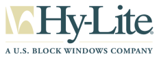 Hy-Lite, a  U.S. Block Windows Co. Logo