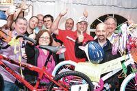 Hayward Builds Bikes for Charity, Announces Ariz. Contest