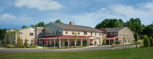 Carriage House at Lee's Farm in Wayland, Mass., is one of six senior living communities that The Architectural Team has designed for The Northbridge Companies.