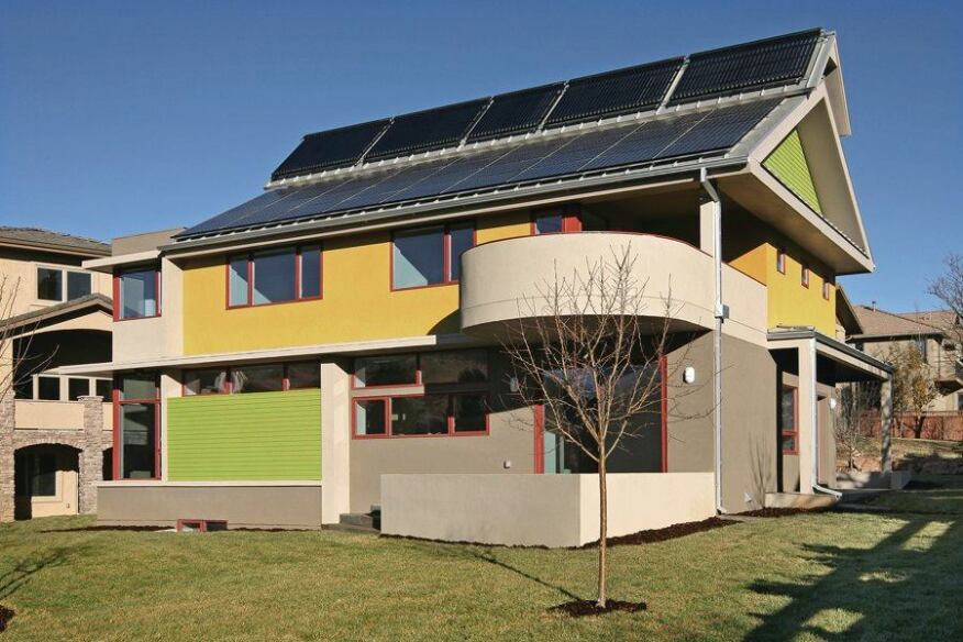 Building A Net Zero Energy House In Boulder Colo