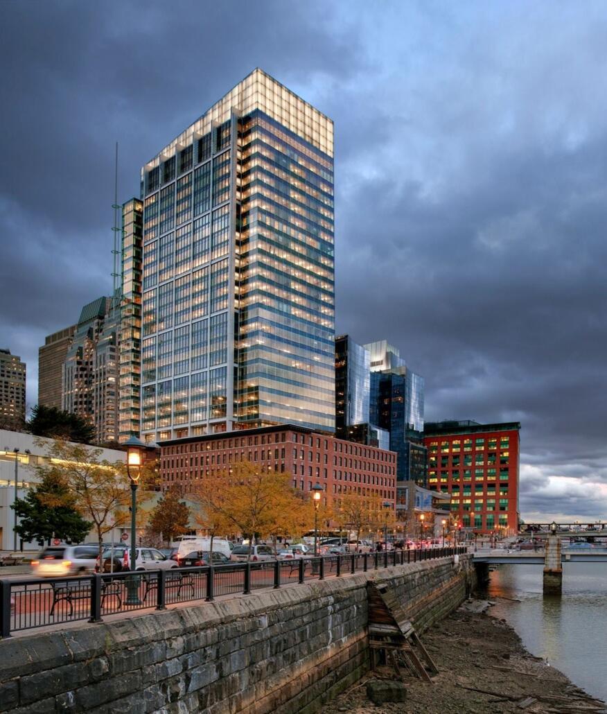 Atlantic Wharf, Boston.