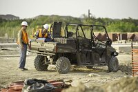 Polaris work vehicles for the commercial markets