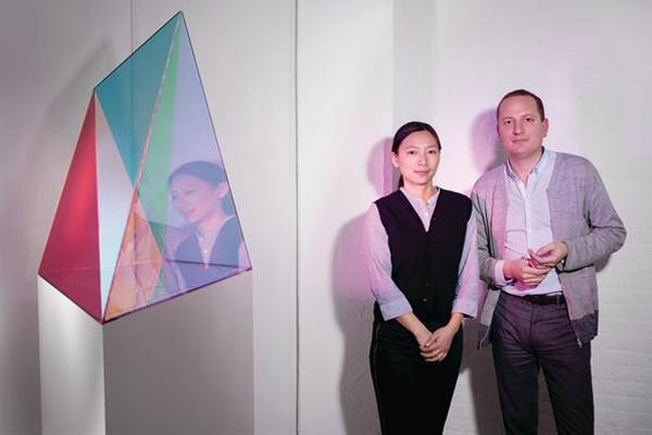 Jing Liu and Florian Idenburg, the founders of the New York firm SO-IL.