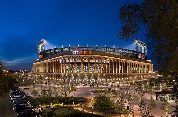 CitiField, Mets Baseball Stadium, New York, by Populous.
