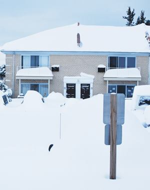 A Dec. 26 blizzard left Brick Township, N.J. buried under drifts as high as 4 feet; disaster funding from the Federal Emergency Management Agency will help the township recoup much of the costs to fight the storm. Photo: Antony Hodge