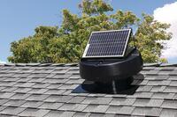 Solar-Powered Attic Fan From U.S. SUNLIGHT CORP