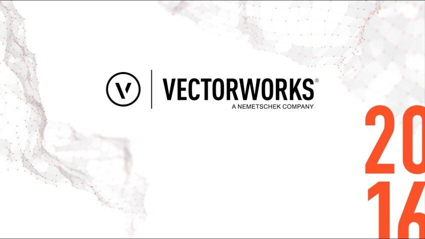 Vectorworks 2016 Overview