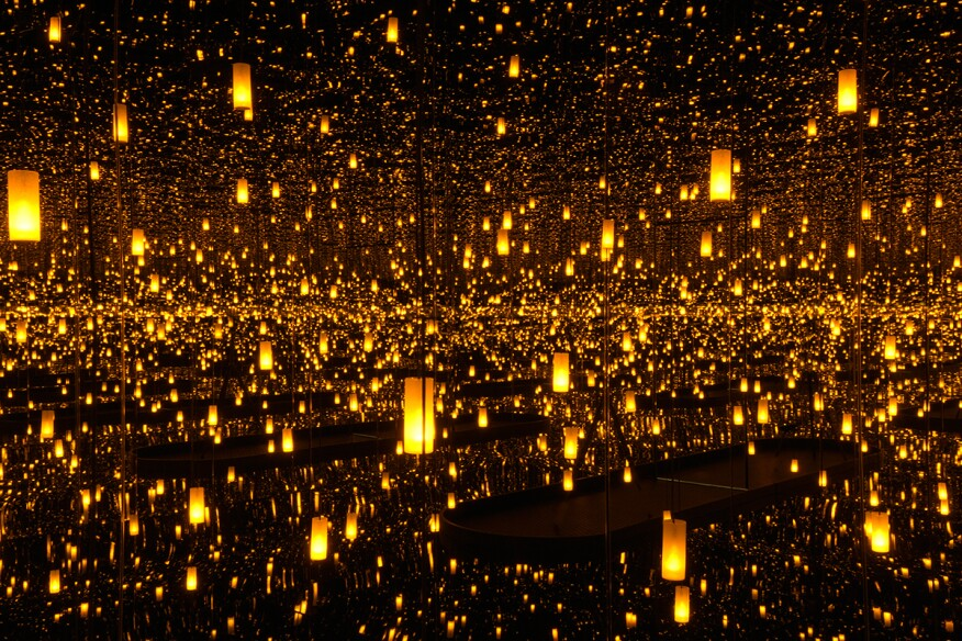 """""""Infinity Mirrored Room – Aftermath of Obliteration of Eternity"""" (2009) at the Hirshhorn"""