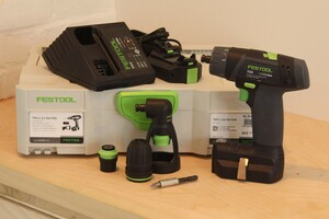 Tested: Festool TXS Compact Cordless Drill