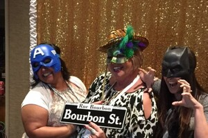 NPC Mixes Business with Mardi Gras