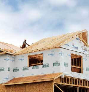ON THE RISE: Bellevue Builders Supply of Schenectady, N.Y., has increased its installed sales work on multifamily projects. Its services include framing, windows, roofing, and interior doors. But Bellevue crews work only on new construction.