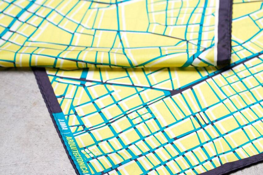 Arquitectonica Designs New Line of Scarves and Ties