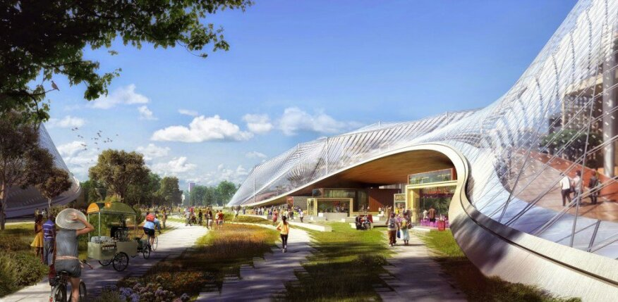 google hq office mountain view california. the original designs by big and heatherwick studio google hq office mountain view california o
