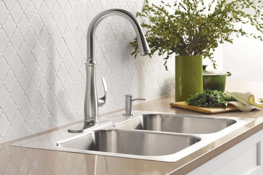 Install Options: Kohler Eventide Dual-Mount Sink