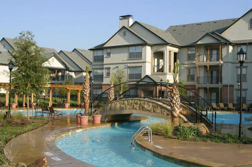Photo provided by Cortland Partners. Cortland Partners acquired Saxton Woods in Dallas with a value-add plan in mind.