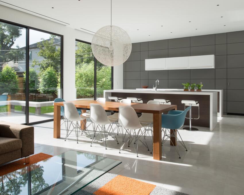 Zaguan House, Houston    Murphy Mears Architects and Wm. T. Cannady, FAIA, Houston