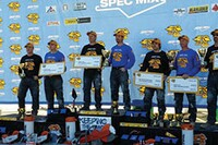 Bricklayer 500 Champs Celebrate Well-Earned Awards