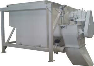 The ice batching unit can be installed in a central or transit mix plant.
