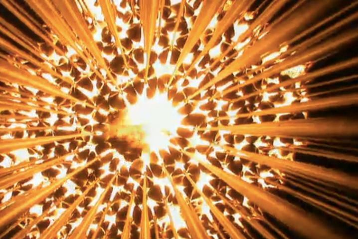 Olympic Cauldron Celebrates Collective Olympic Experience