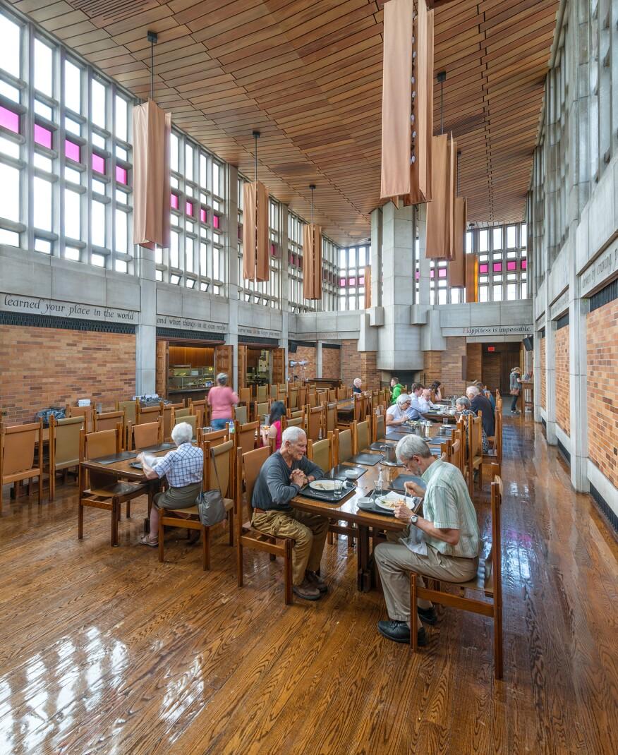 The Massey dining hall