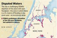 New York City Disputes FEMA Floodplain Maps