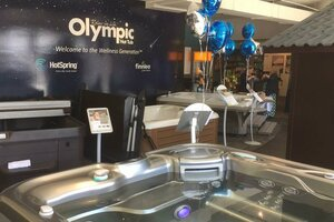 Olympic Hot Tub Holds Grand Opening