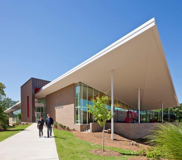 Adamsville Regional Health Center, Atlanta, by Stanley Beaman & Sears.