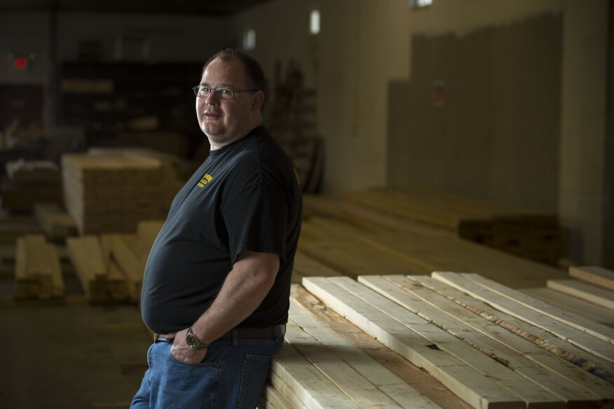Mike Flowers took the big step of launching Mike's Lumber after the former lumberyard he worked for closed.