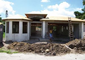 How to build an affordable concrete home concrete Affordable house construction