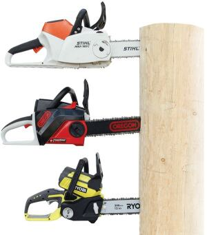 With 36 or more volts of battery power, these tools are handy for trimming beams, cutting sheathing out of rough openings, and clearing trees and branches. The three models available in the U.S. come at three different price points, from premium to economical.