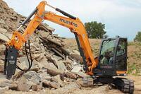 Mustang 800Z Zero-Tail-Swing Excavator