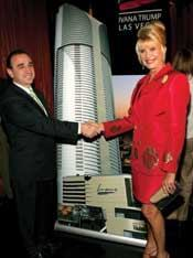 Ivana Trump's highly publicized condo project in Las Vegas is up for sale–and its future is unknown.