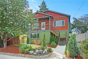 """A Seattle home, where """"hotness"""" defies the weather."""
