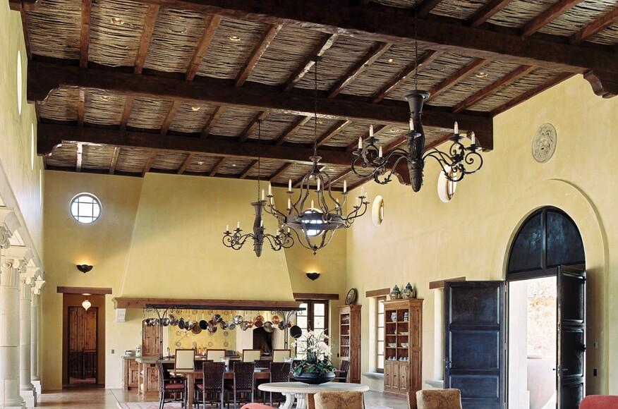 tuscan style home | architect magazine | taylor lombardo