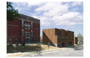 The Bancroft School Redevelopment, designed by BNIM in collaboration with Dalmark Group and Make It Right, won a 2012 Social Economic Environmental Design (SEED) Award for Excellence in Public Interest Design.