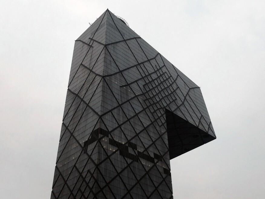 OMA's CCTV Headquarters, in Beijing.