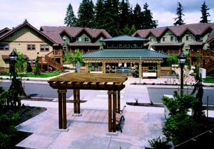 NORTHWEST ESCAPE: Cascadia Village offers energy-efficient living for residents of all mobility levels.