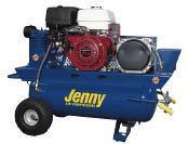 Jenny K11HGA-17P-3000W Compressor/Generator