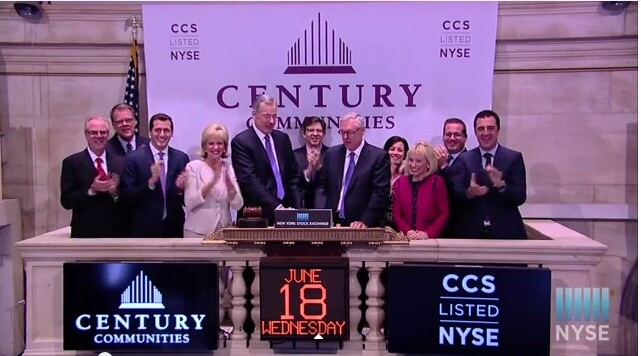 Century Becomes Home Building's 8th New Public in 18 Months