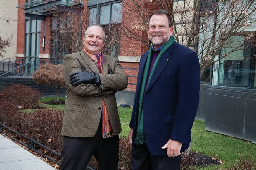 Bill Bonstra and David Haresign of Bonstra | Haresign Architects
