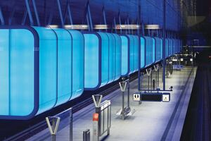HafenCity Subway Station, Hamburg, Germany