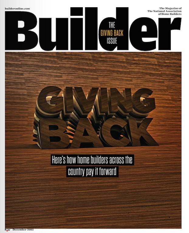 BUILDER December 2015 cover