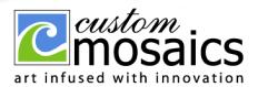 Custom Mosaics, Inc. Logo