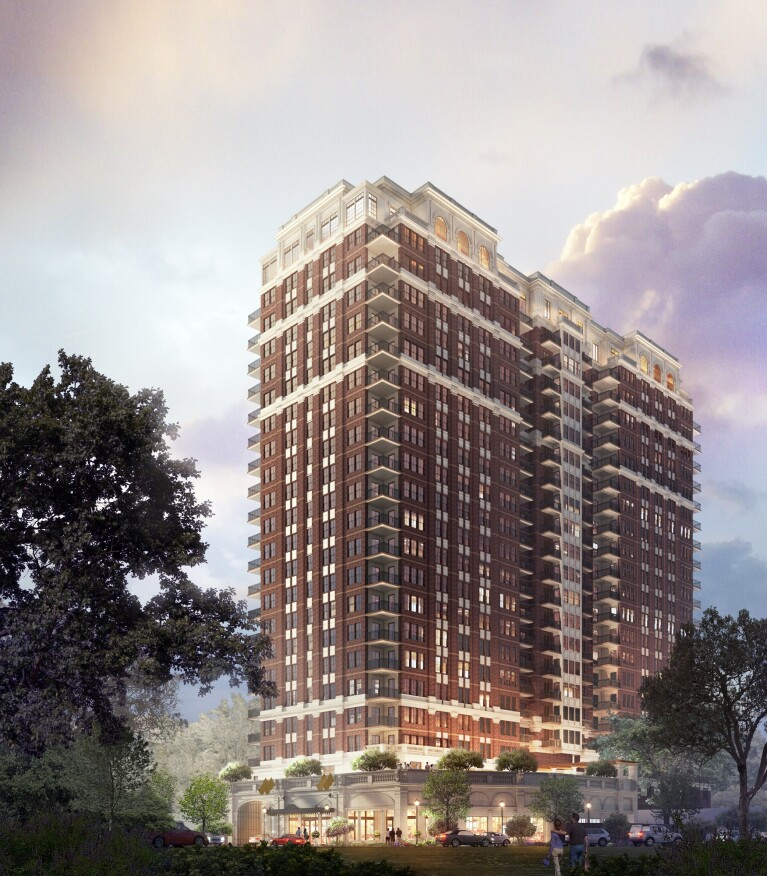 StreetLights Residential anticipates that construction on The McKenzie, a 22-story, 183-unit high-rise in Dallas, will be completed in summer of 2017.