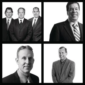 Successful Quartet Executives of (clockwise from top left) Gehan Homes, Stanley Martin Cos., Oakwood Homes, and Schell Brothers were all big gainers in 2010.