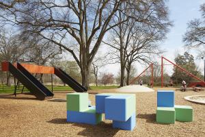 Playscape in Atlanta's Piedmont Park