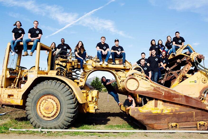 Journeyman International team photo, taken in California
